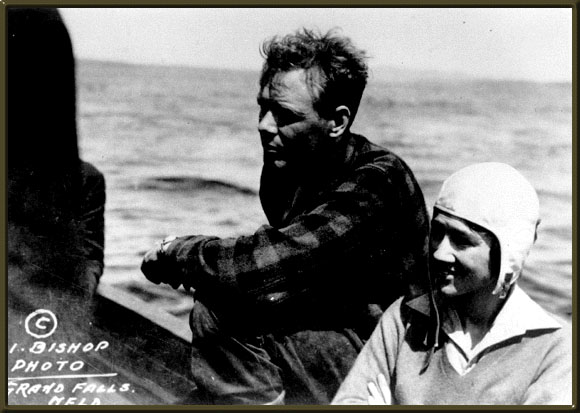 [Charles and Anne Lindbergh at Botwood in1933]